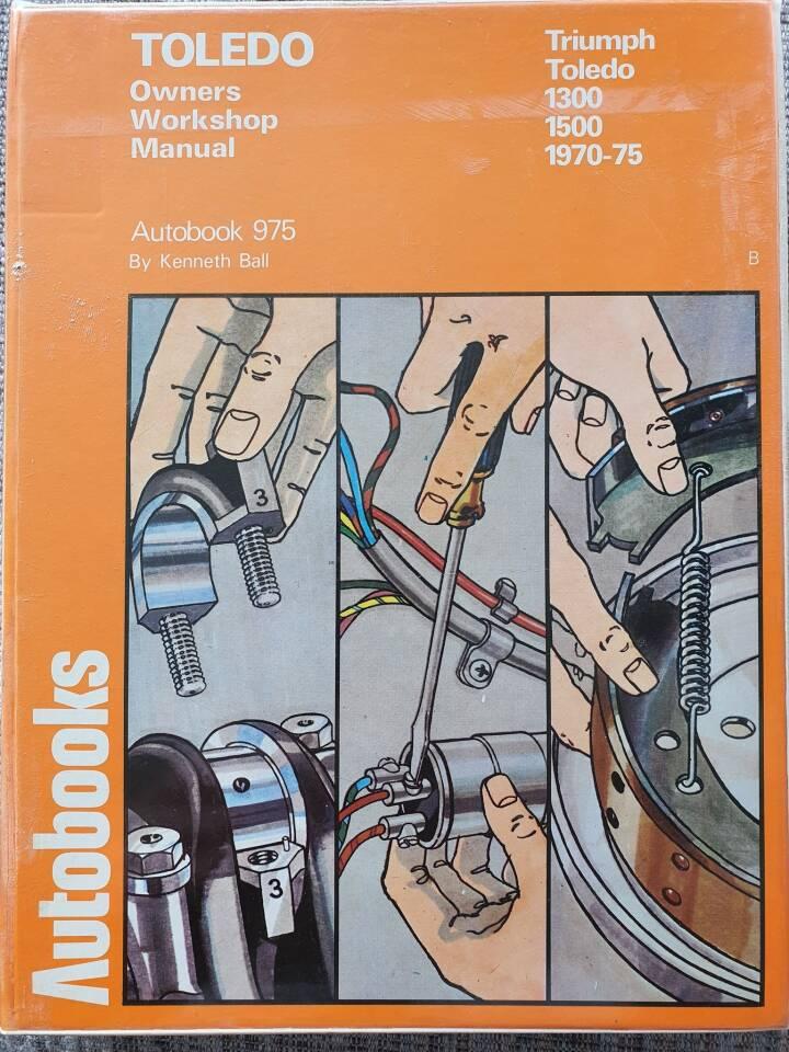 Autobooks. Triumph Toledo 1300, 1500. Autobook 975