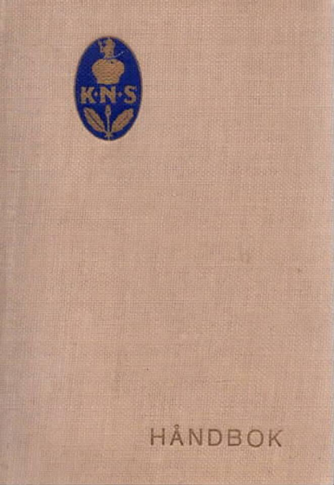 KNS Håndbok  1939