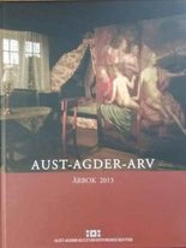 AUST-AGDER-ARV Årbok 2013