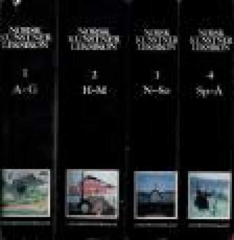 Norsk kunstnerleksikon (4 bind)