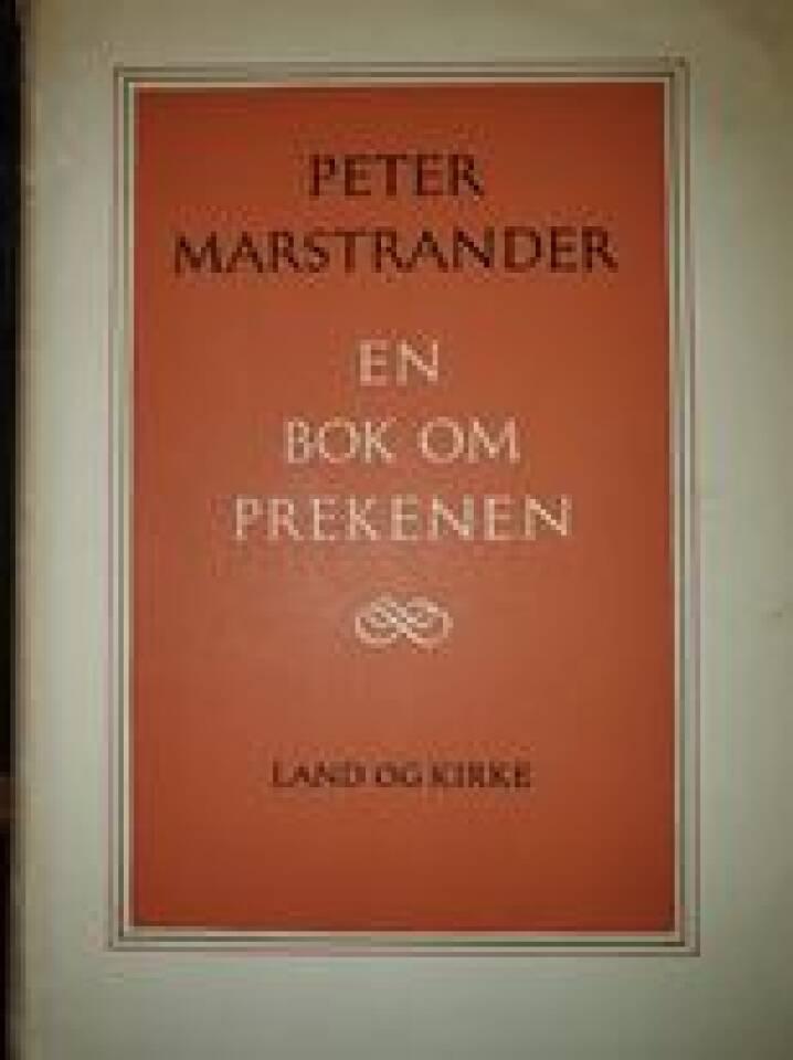 En bok om prekenen