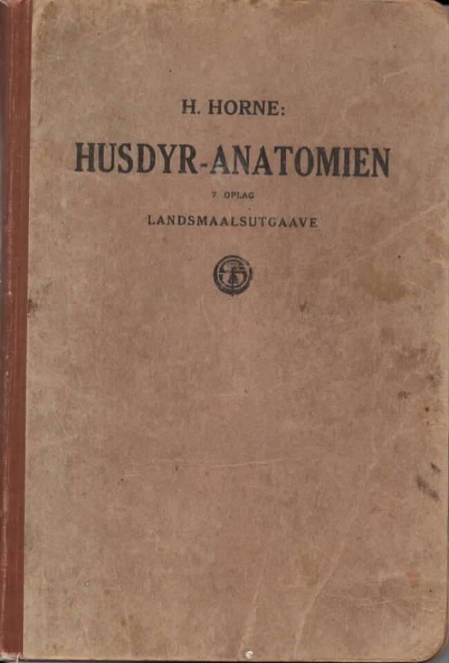 Husdyr-anatomien