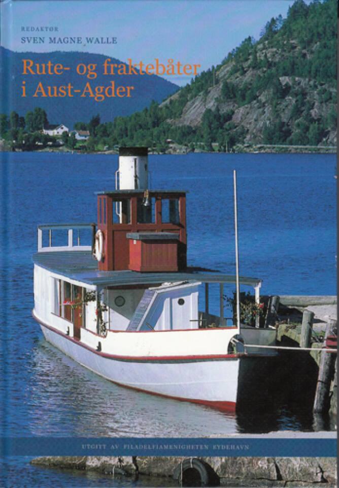 Rute og fraktebåter i Aust Agder
