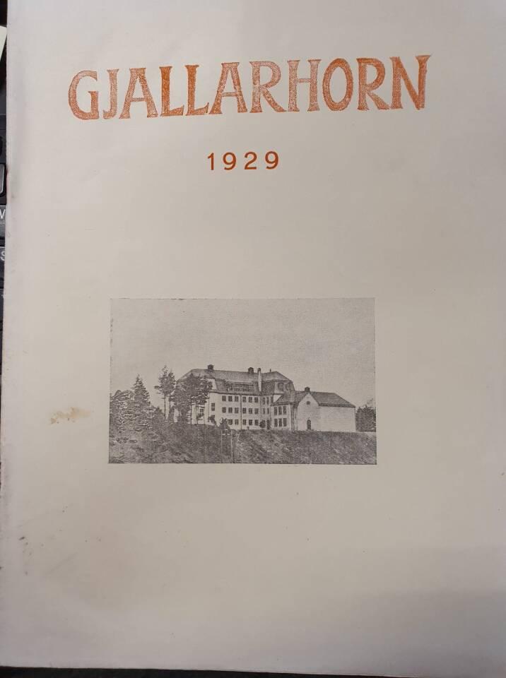 Gjallarhorn 1929