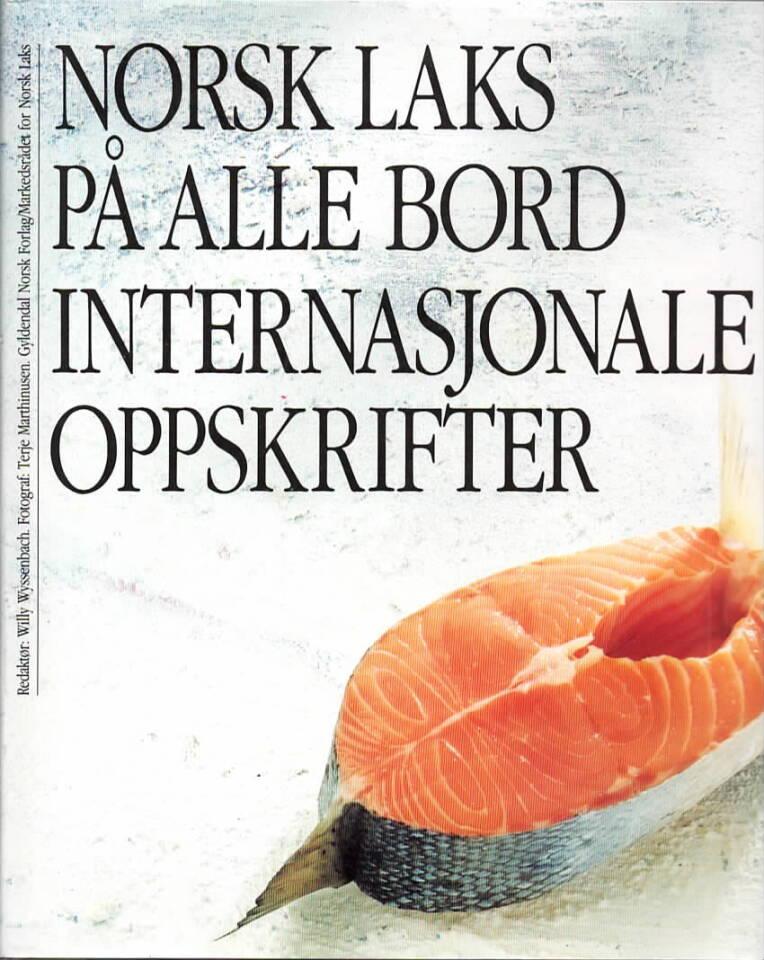 Norsk laks på ale bord – internasjonale oppskrifter