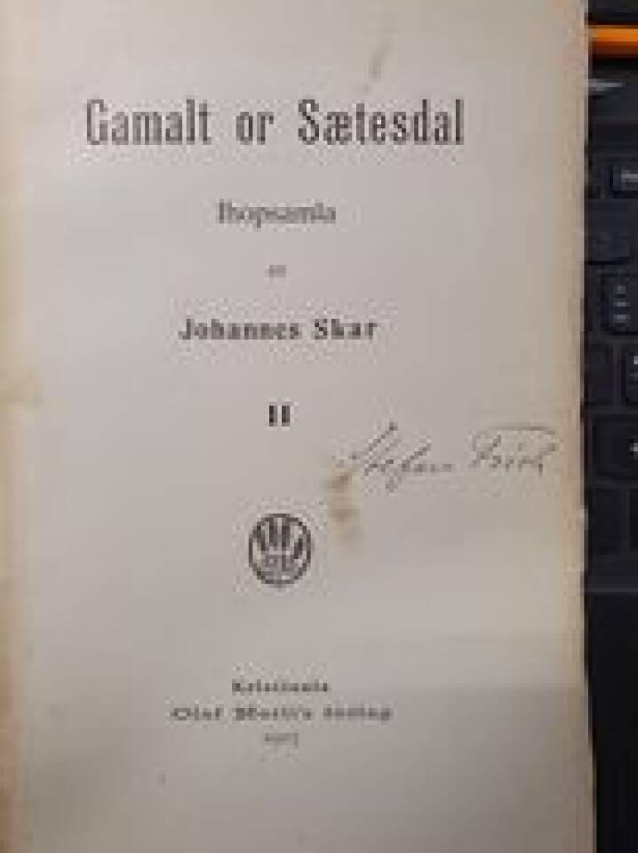 Gamalt or Sætesdal  II