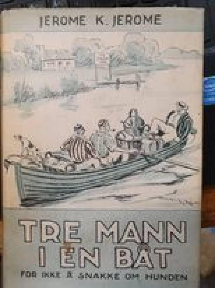 Tre mann i en båt