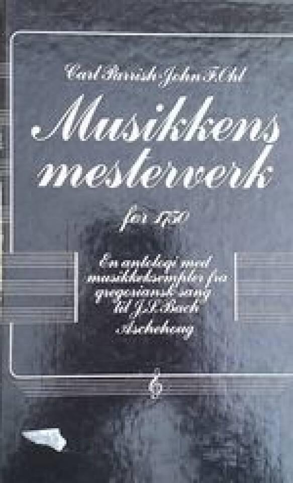 Musikkens mesterverk før 1750
