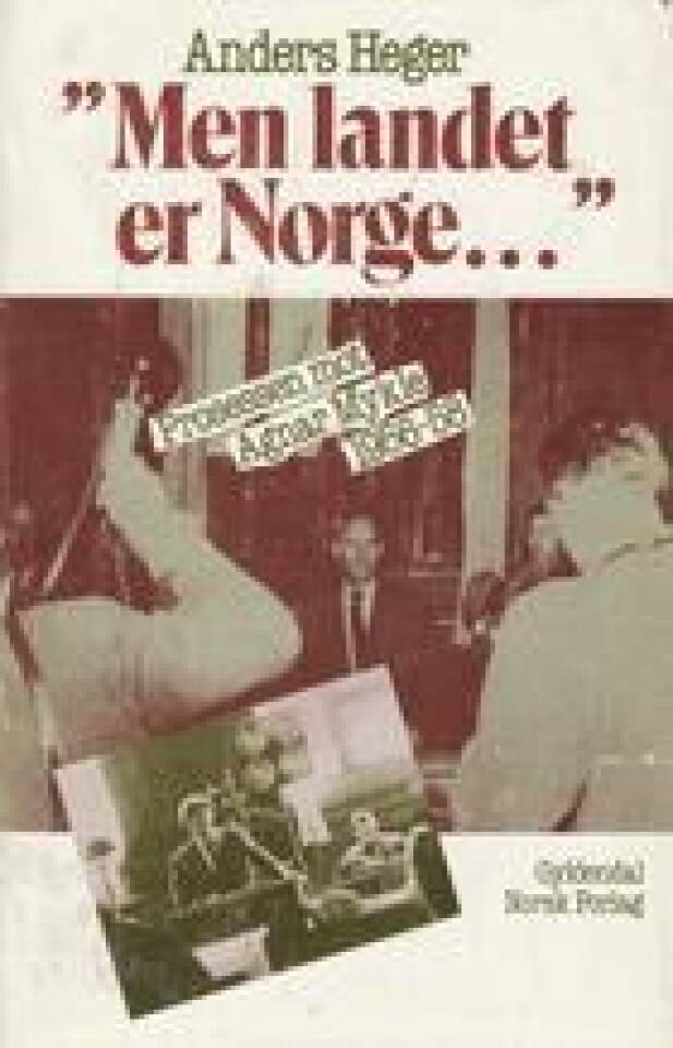 Men landet er Norge.. Prosessen mot Agnar Mykle 1956-58