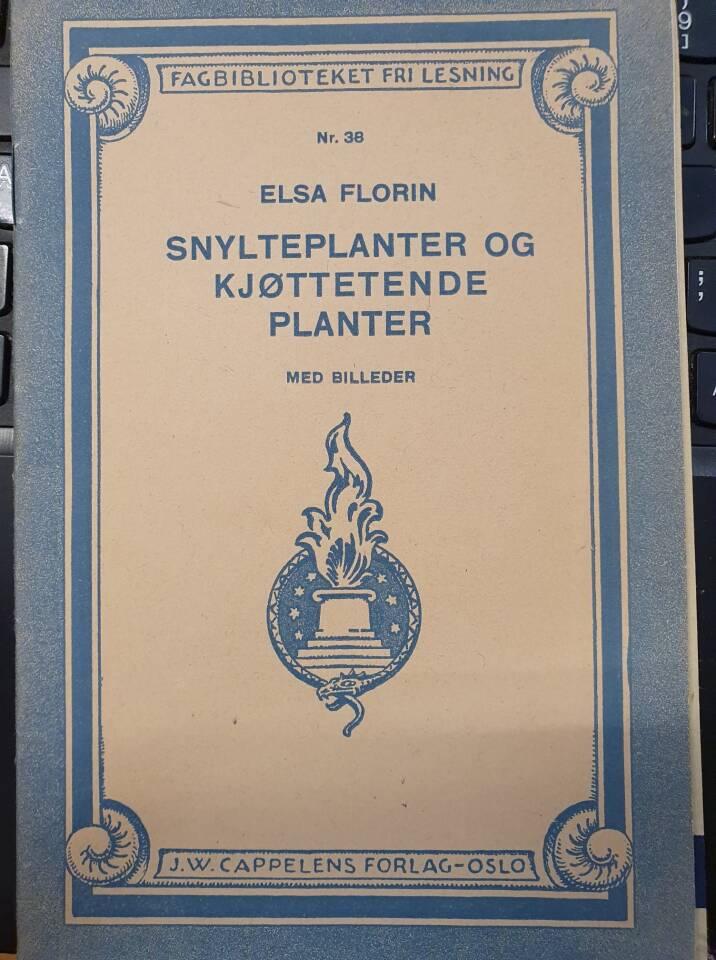 Snylteplanter og kjøttetende planter med villeder