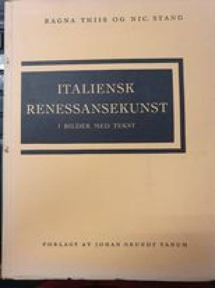 Italiensk renessansekunst i bilder med tekst