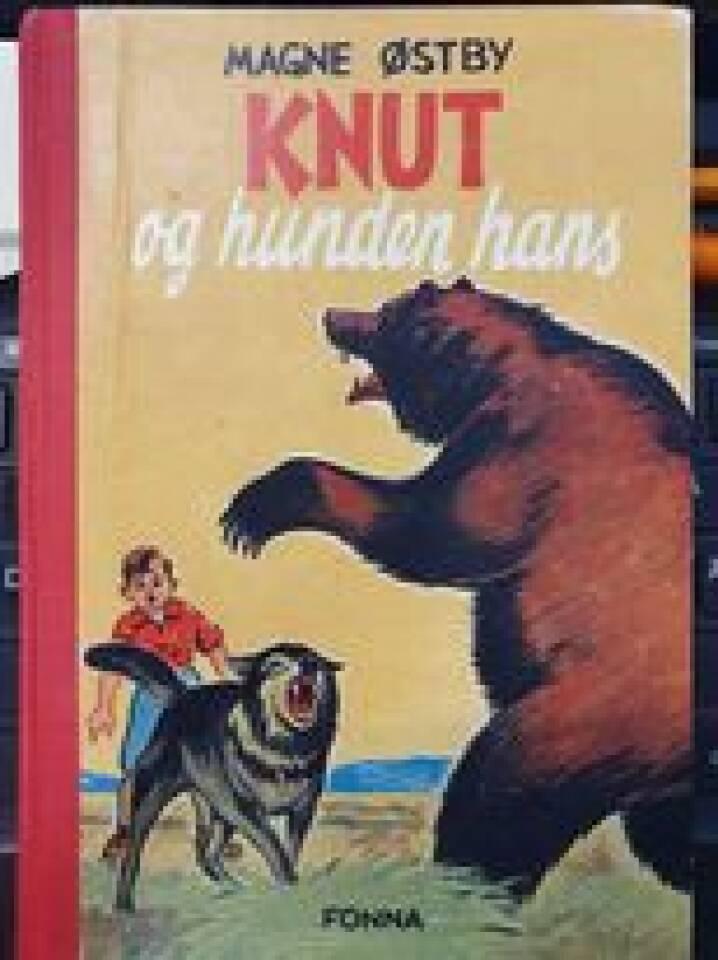 Knut og hunden hans