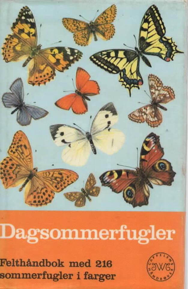 Dagsommerfugler – Felthåndbok med 216 sommerfugler i farger