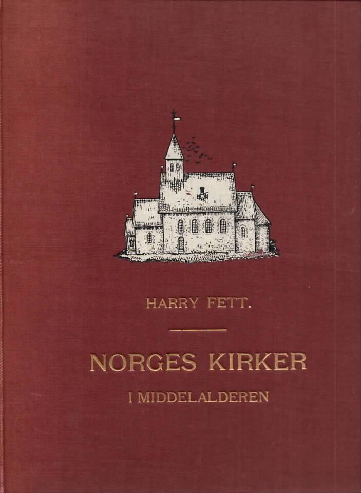 Norges kirker i middelalderen. Med 426 bilder, 16 blade plancher og 1 kunstbilag