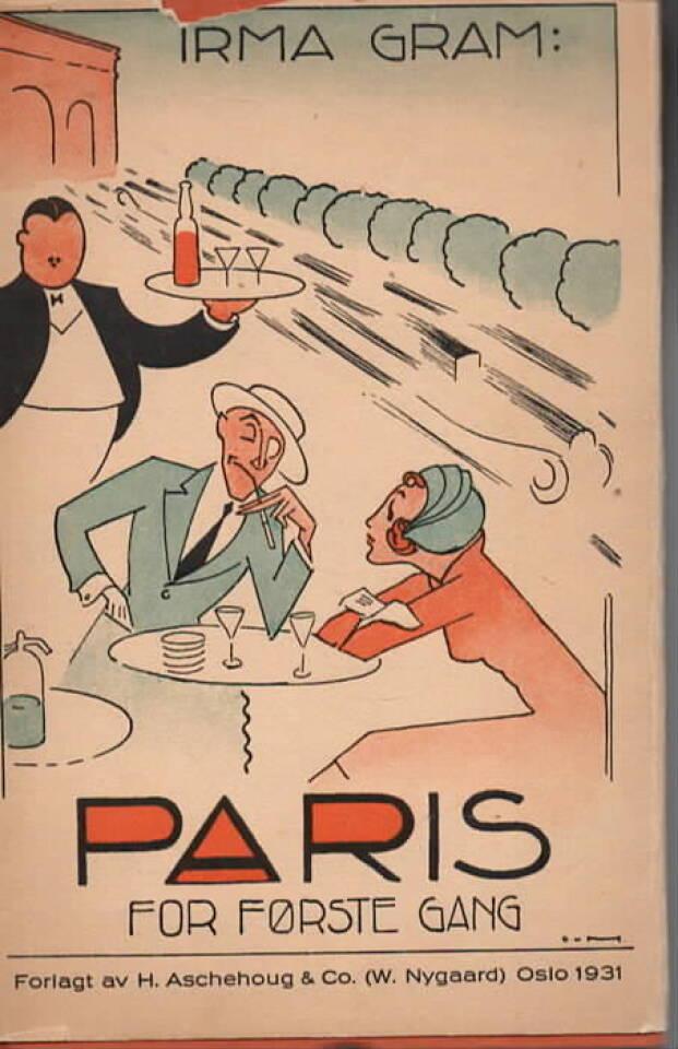 Paris for første gang
