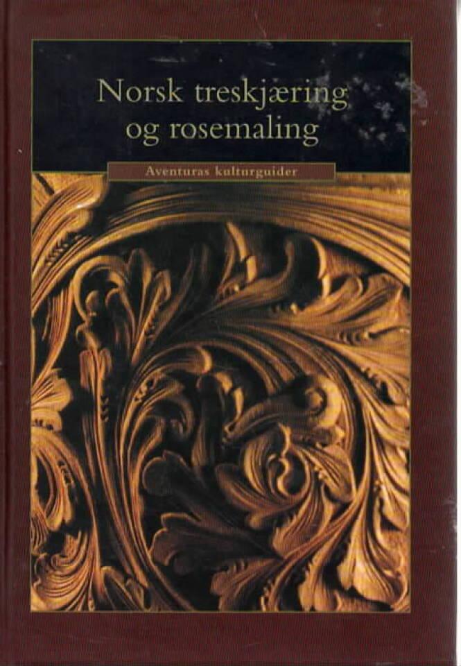 Norsk treskjæring og rosemaling