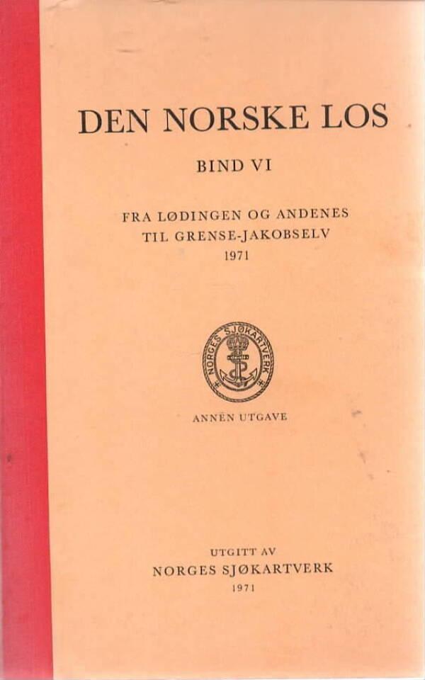 Den norske los Bind VI – Fra Løddingen og Andenæs til Grense-Jakobselv