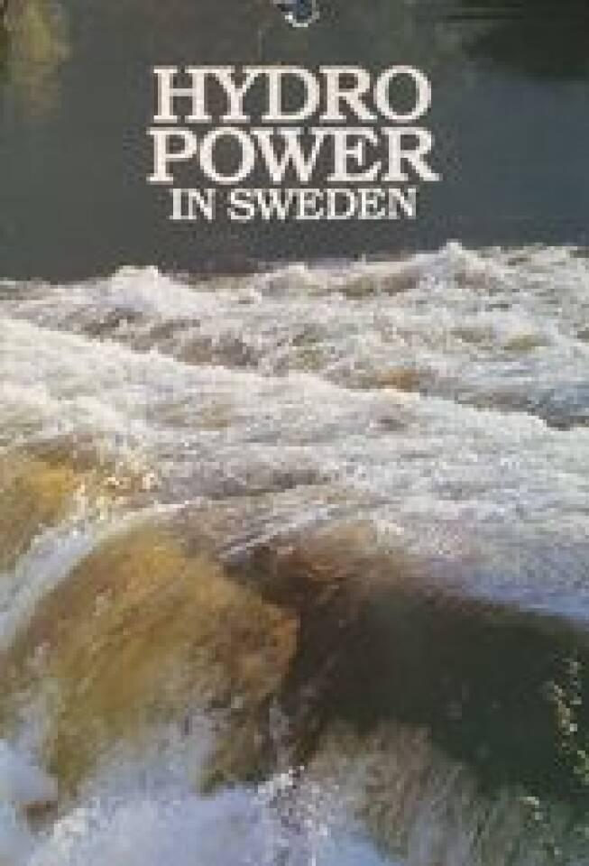 HYDRO POWER IN SWEDEN