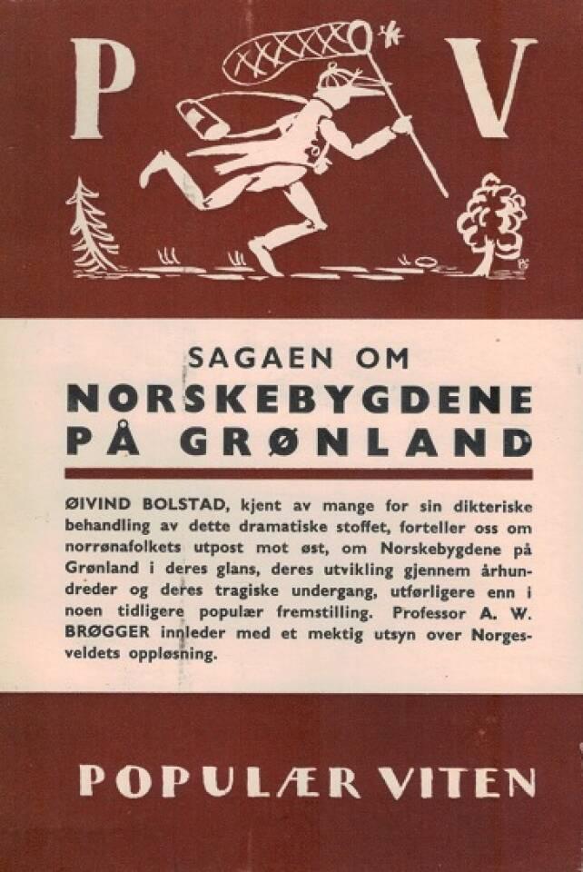 Sagaen om Norskebygdene på Grønland