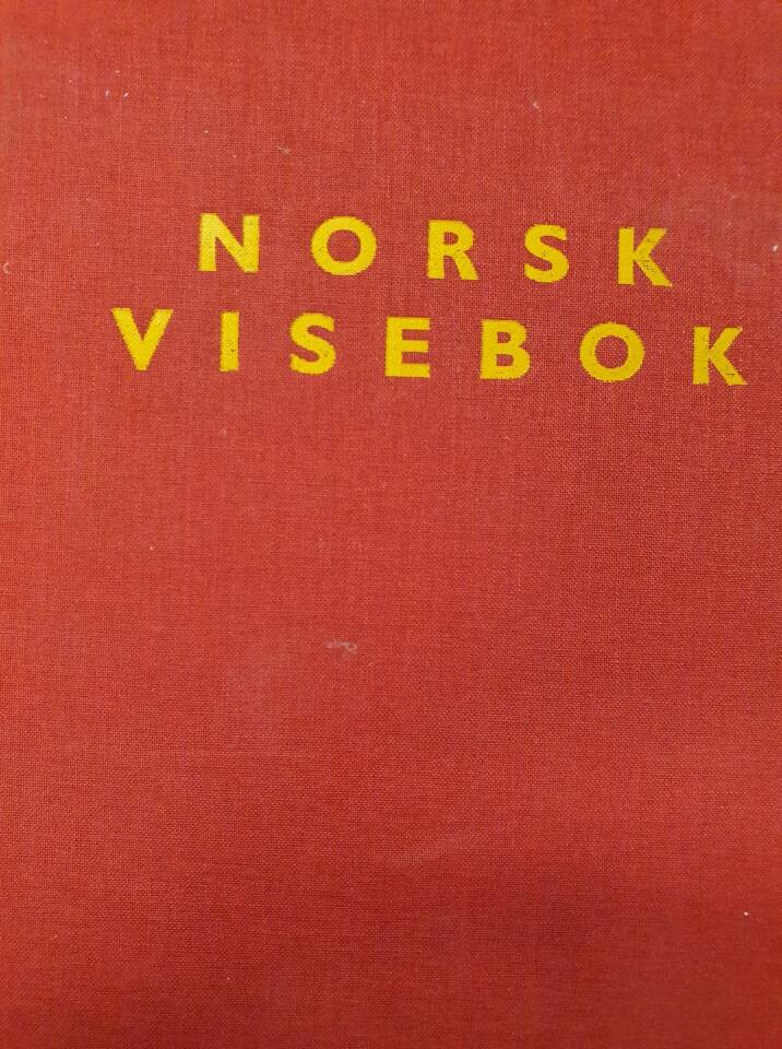 Norsk visebok – Norske vise- og sangtradisjoner gjennom 500 år