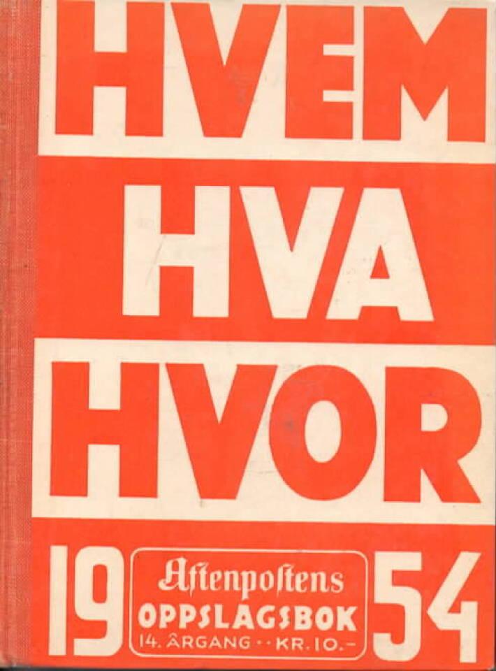 Hvem Hva Hvor 1954
