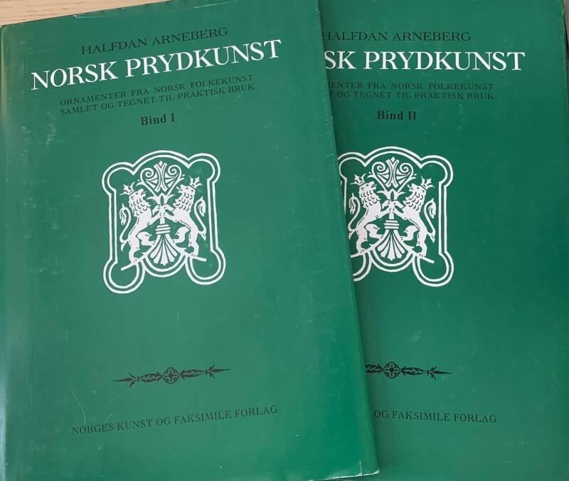 Norsk Prydkunst bind I-II