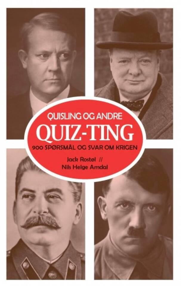 Quiz-Ting 900 spørsmål og svar om krigen
