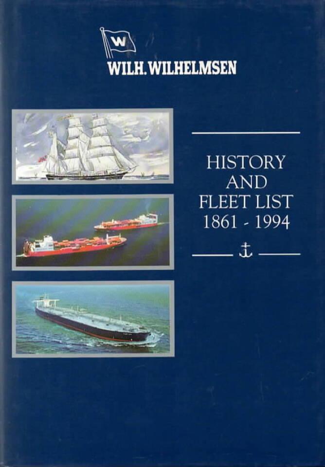 History and fleet list 1861-1994