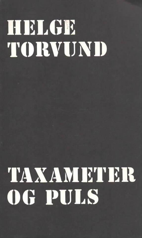 Taxameter og puls