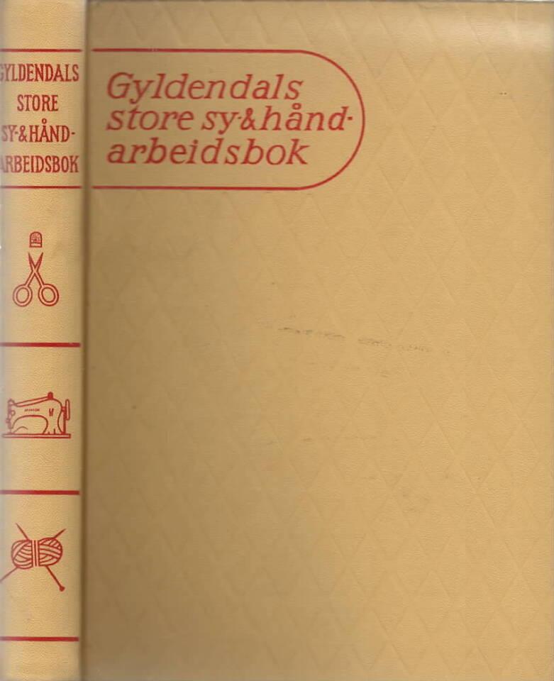 Gyldendals stroe sy- & håndarbeidsbok