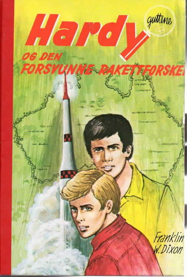 Hardyguttene og den forsvunne rakettforskeren