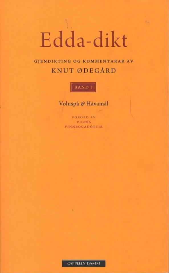 Edda-dikt bind I