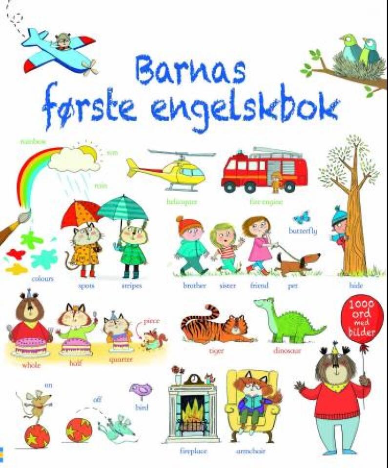 Barnas første engelskbok