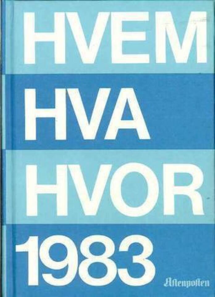 HVEM HVA HVOR 1983