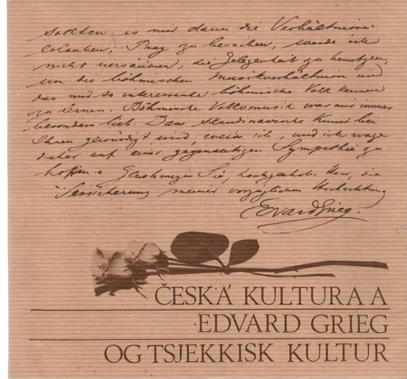 Edvard Grieg og tsjekkisk kultur