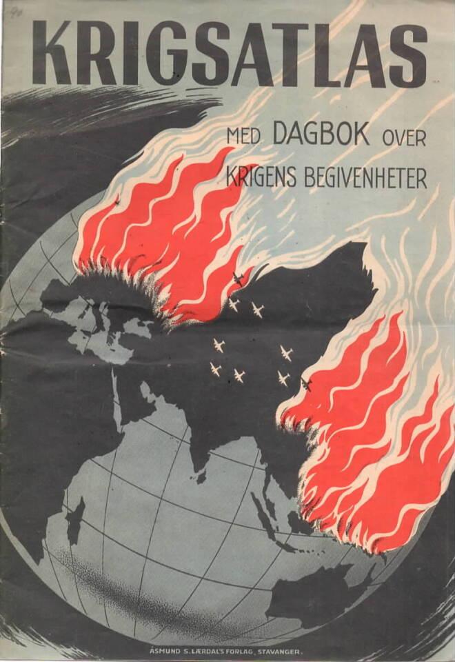 Krigsatlas – med dagbok over krigens begivenheter