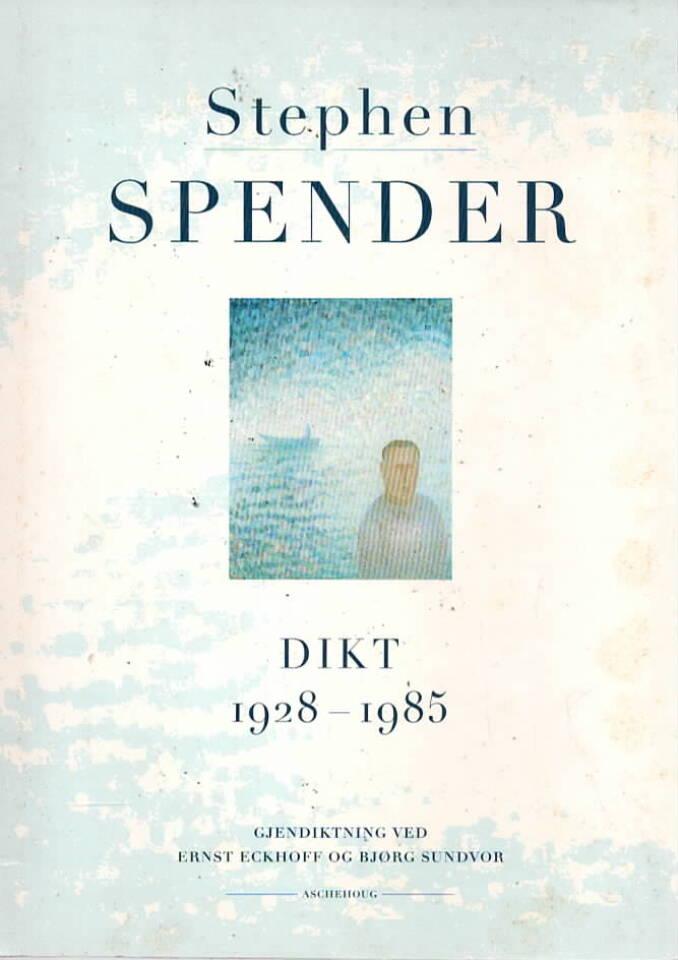 Stephen Spender 1928-1985