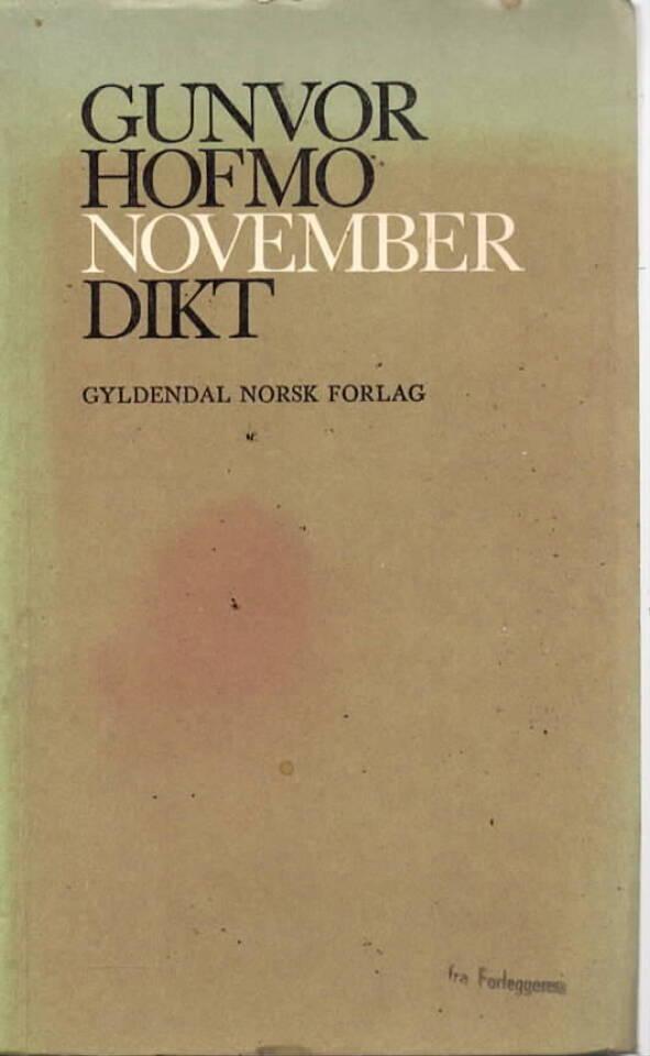 Gunvor Hofmo – November