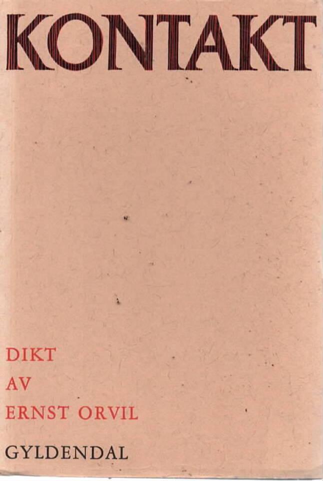 Kontakt – dikt av Ernst Orvil