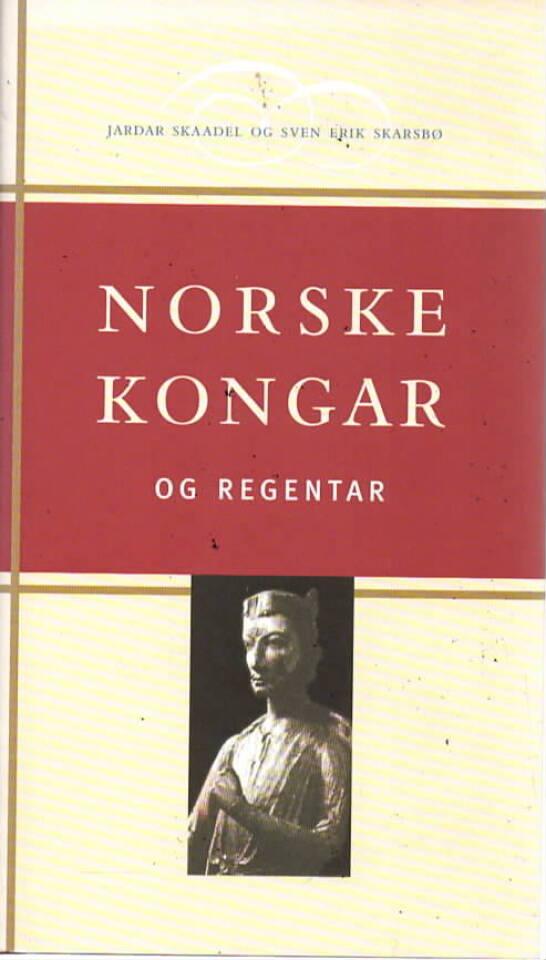 Norske kongar og regentar – Frå Harald Hårfagre til Harald 5.