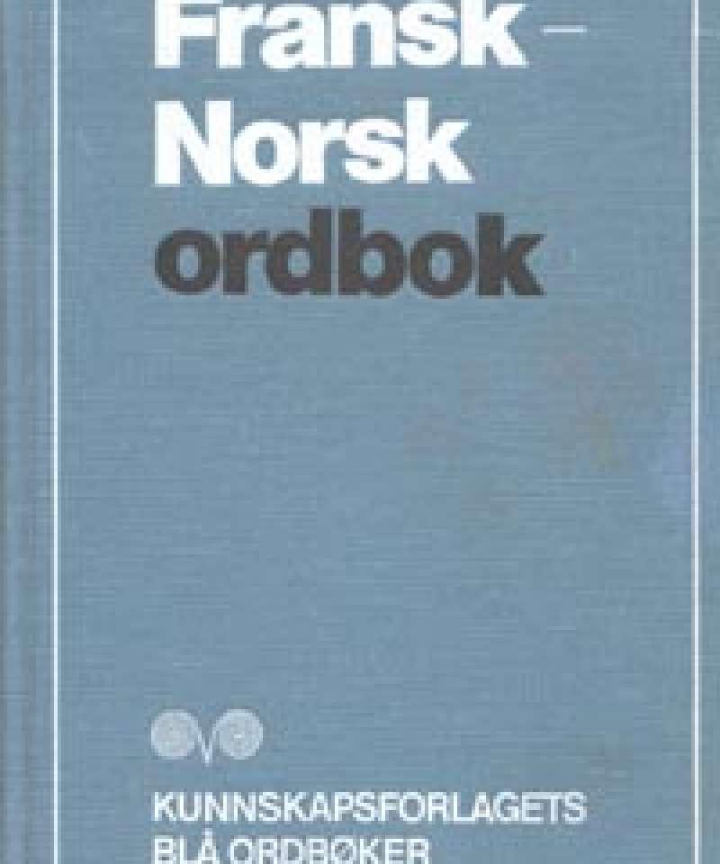 Fransk-Norsk ordbok