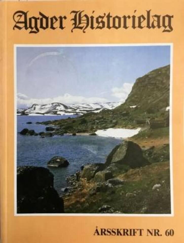 Agder Historielag 1984