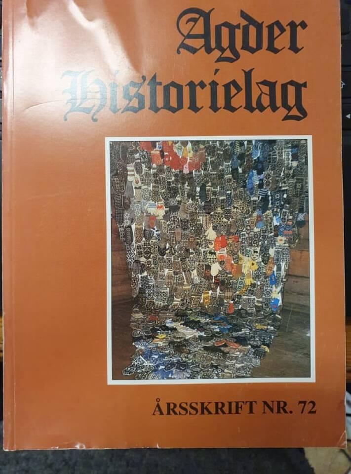 Agder historielag 1996
