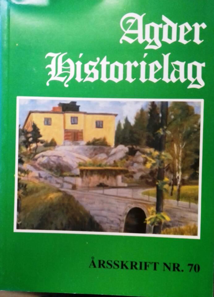 Agder historielag 1994
