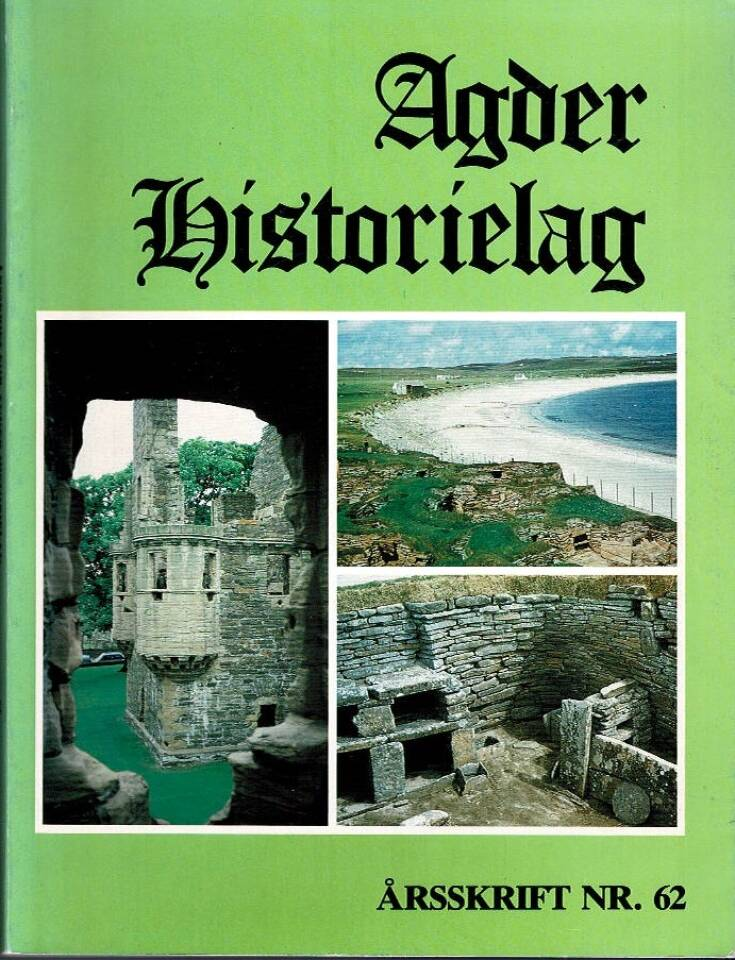 Agder historielag 1986