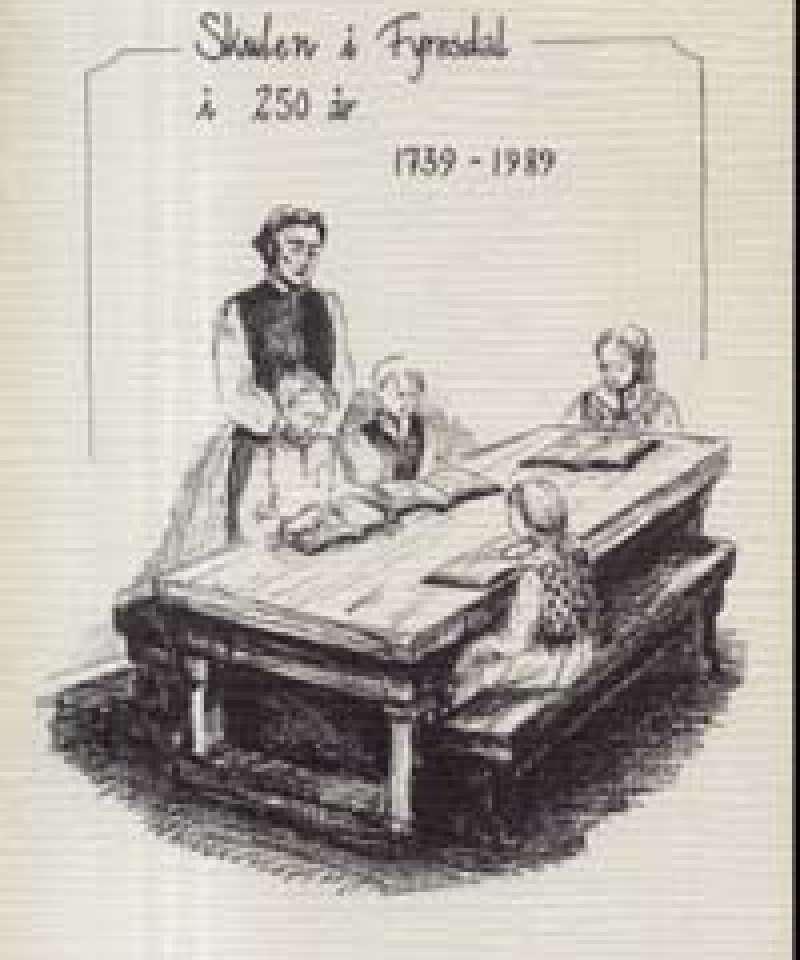 Skulen i Fyresdal i 250 år