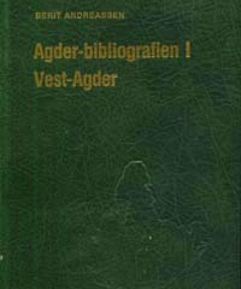 Agder-bibliografien I Vest-Agder