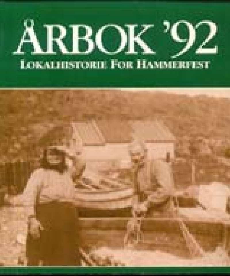 Årbok for lokalhistorie og kultur i Hammerfest 1992
