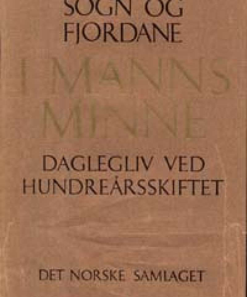 Sogn og Fjordane i manns minne