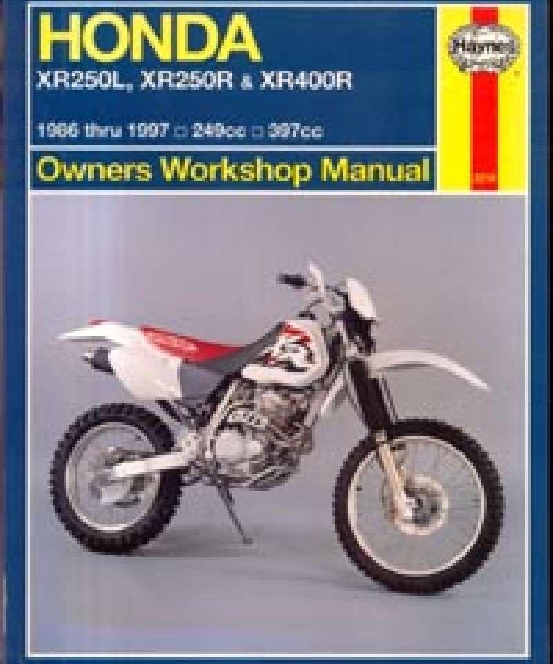 Honda XR250L, XR250R & XR400R